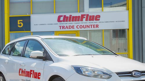 chimney supplies trade counter